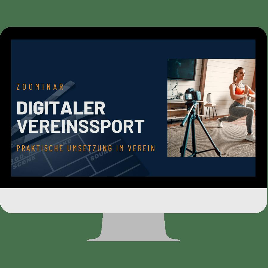 Vorschaubild digitaler Vereinssport
